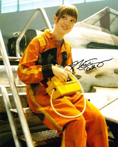 NICKI CLYNE as Specialist Cally Tyrol - Battlestar Galactica Genuine Autograph from Celebrity Ink