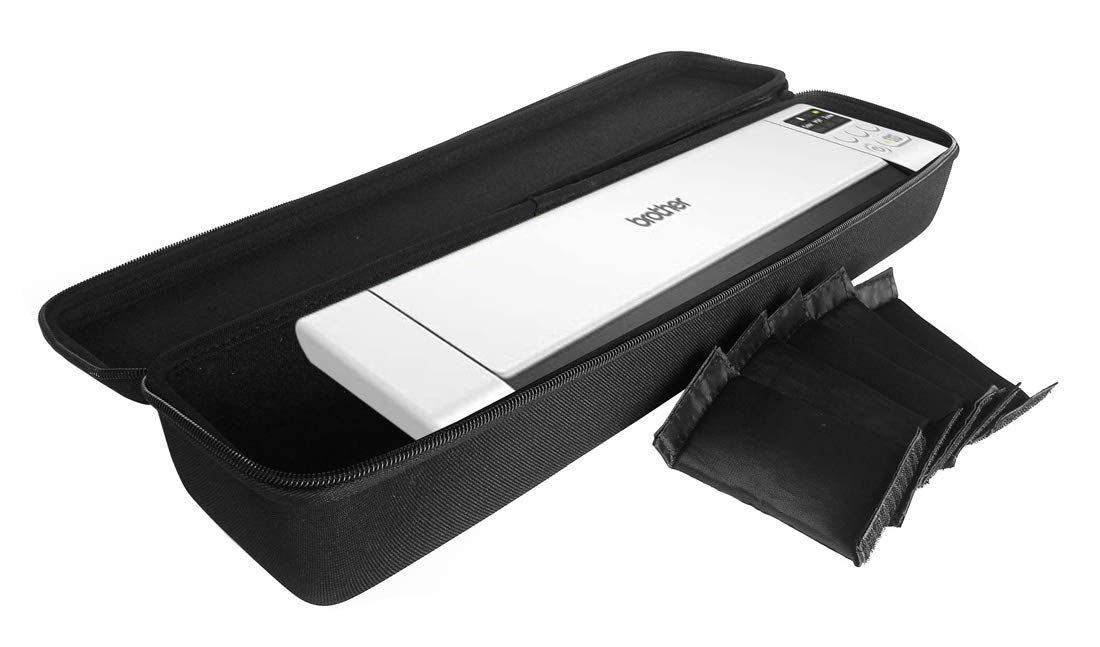FitSand Hard Case Compatible for Brother DS-940DW Duplex and Wireless Compact Mobile Document Scanner