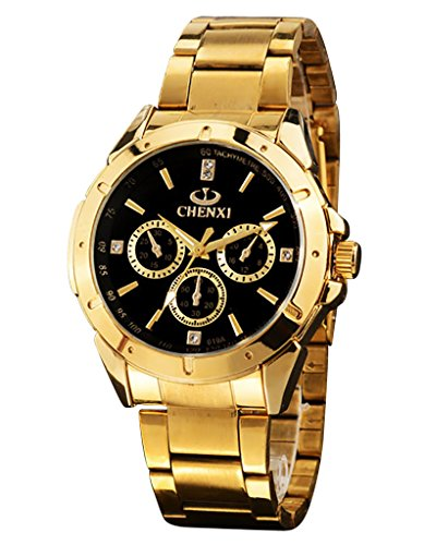 gold-watches-for-men-mens-gold-stainless-steel-luxury-quartz-watch