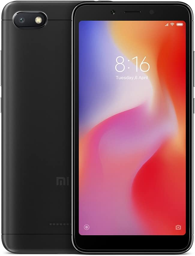 Xiaomi Redmi 6A Dual SIM 16GB 2GB RAM Black: Xiaomi: Amazon.es ...