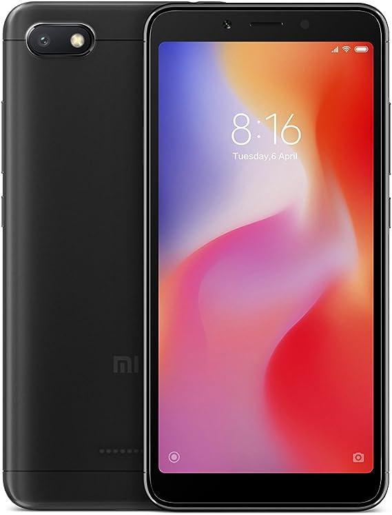 Xiaomi Redmi 6A Dual SIM 16GB 2GB RAM Black: Xiaomi: Amazon.es ...