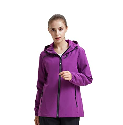 ecd720ee156 ximlife Jackets Coats Women Spring Winter Windbreaker Water Resist Hoood