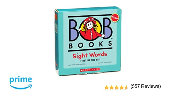 Amazon.com: Bob Books: Sight Words, 1st Grade (9780545019248 ...