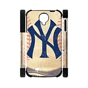 RAROFU Baseball pattern New York Yankees Custom Dual-Protective Case for Samsung Galaxy S4 I9500 3D