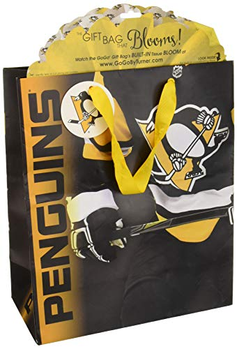 Turner Licensing Sport Pittsburgh Penguins Large Gogo Gift Bag (8931033) -
