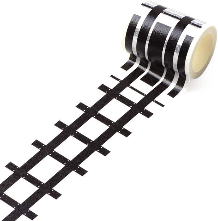 Abnehmbare Schiene Speed Limit 50 Road Tape Eisenbahn aaerp Heimwerker-Klebeband Papier 5m*4.8cm