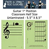 Notes & Strings Guitar 1st Position 5.5