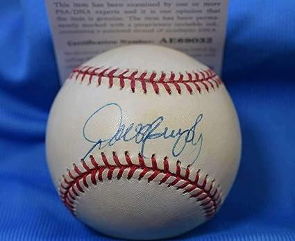 Signed Baseball W/ Psa Coa royals Frank Jeff Francouer
