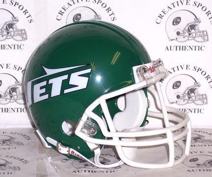 Helmet 1999 Football - New York Jets 1978-1999 Throwback Riddell Mini Football Helmet