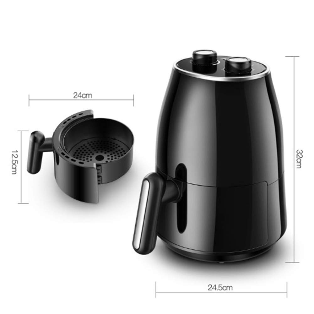 Hogar de aire freidora freidora electrica automatica maquina de gran capacidad inteligente de salud conveniente horno patatas fritas: Amazon.es: Hogar