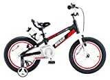 Royalbaby Space No. 1 Aluminum Kid's Bike, 16 inch Wheels, Black