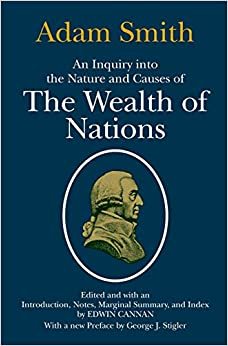 An overview of the wealth of nations inquire by adam smith