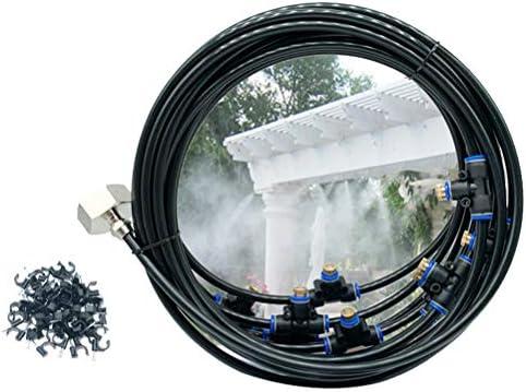 Yardwe Sistema de nebulización Jardin Kit nebulizacion terraza, 8 ...