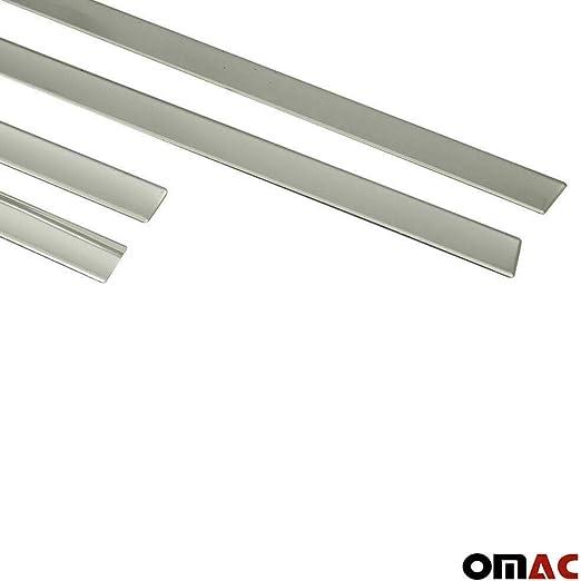 Listello laterale cromato per XC60 I 4 pezzi protezione laterale in acciaio inox II 2013-2020