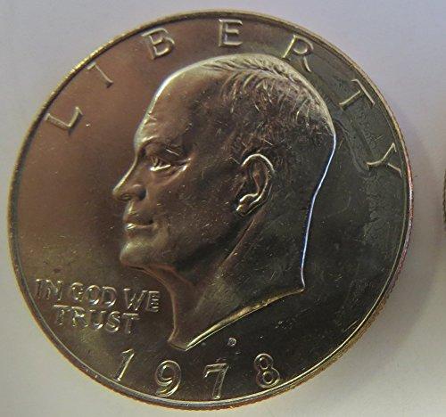 - 1978 D Eisenhower Dollar Choice Uncirculated