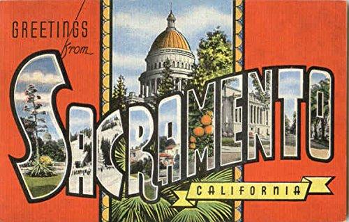 Greetings from sacramento sacramento california original vintage greetings from sacramento sacramento california original vintage postcard m4hsunfo