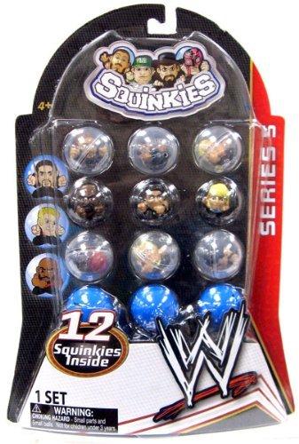 WWE Wrestling Series 5 Squinkies 12-Pack by Squinkies