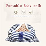 Abreeze Baby Bassinet for Bed -Polar Bear Baby