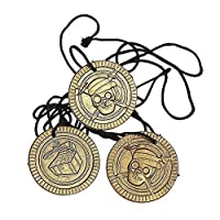 1 X Pirate Coin Necklaces 48 Ct - Favores de fiesta - Niños /Niñas