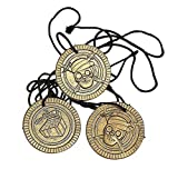1 X Pirate Coin Necklaces 48 Ct - Party Favors - Boys / Girls