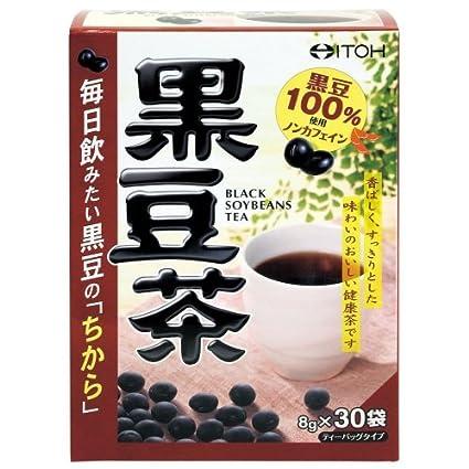 Amazon | 井藤漢方製薬 黒豆茶 8...