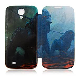 TOPQQ Monster Full Body Leather Case for Samsung Galaxy S4 I9500