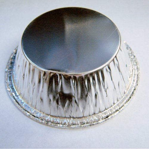 Disposable Aluminum Foil Cups Baking Bake Muffin Cupcake Tin Mold Round 48 Pcs !