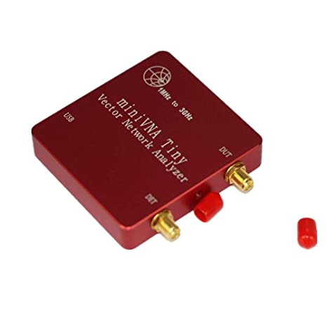 Analizador de red vectorial VNA miniVNA Tiny+ VHF/UHF/NFC/RFID RF Antena Analizador Generador de señal SWR/S-Parameter/Smith