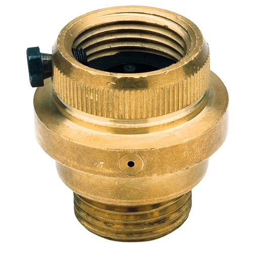 Hose Vacuum Breaker - Watts 8FR Hose Connections Vacuum Breaker with Freeze Relief, Brass