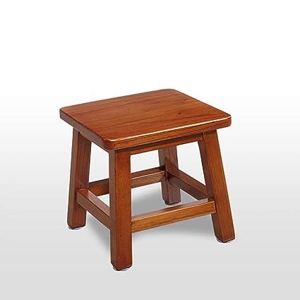 Surprising Amazon Com Czlsd Solid Wood Stool Coffee Table Stool Small Customarchery Wood Chair Design Ideas Customarcherynet