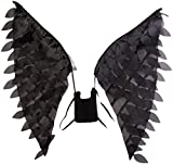 Disney Disguise Women's Maleficent Movie Maleficent Adult Wings Costume Accessory, Black, One Size