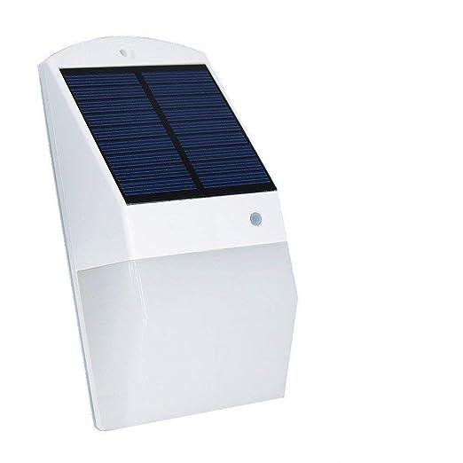 25 LEDs con sensor de movimiento luz solar brillante pared de seguridad, luces de noche
