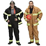 GSG Adult Firefighter (Pants & Jacket Only) Costume Adult Halloween Fancy Dress