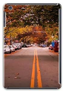 Apple iPad Mini Retina Case,iPad Mini Retina Cases - American Town Autumn PC Custom iPad Mini Retina Case Cover...