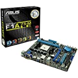 ASUS FM1 A75 SATA 6 Gbps and USB 3.0 FCH (Hudson D3) Micro ATX DDR3 1800 AMD - FM1 Motherboards (F1A75-M LE)