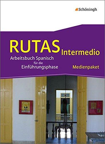 RUTAS Intermedio. Medienpaket – Arbeitsbuch für Spanisch als fortgeführte Fremdsprache in der Einführungsphase der gymnasialen Oberstufe in Nordrhein-Westfalen u.a: Audio-CD und DVD