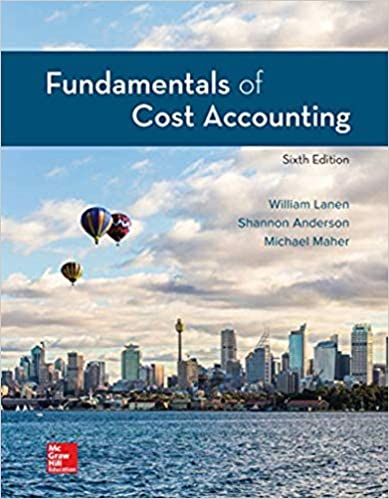 Fundamentals of Cost Accounting, 6th Edition - Original PDF