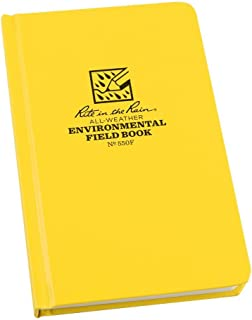 product image for Rite In The Rain 550F Field Book, Environmental Pattern Yellow, 7.5 x 4.75 x 0.625
