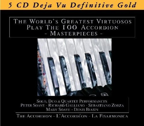 Accordion Day - Accordion: The World's Greatest Virtuosos Play 100 Accordion Masterpieces