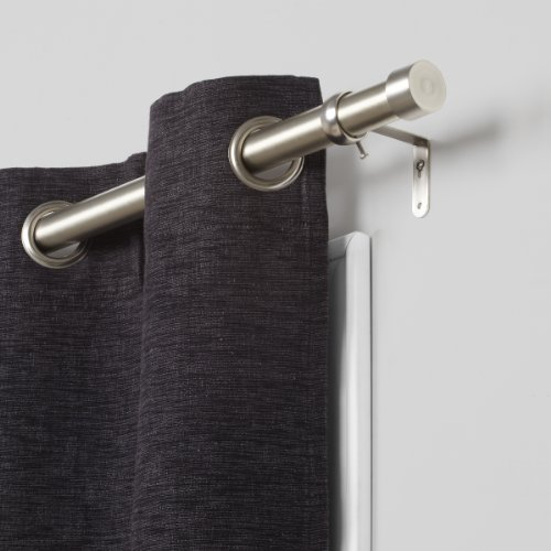 Umbra Cappa Brushed Nickel Curtain Rod