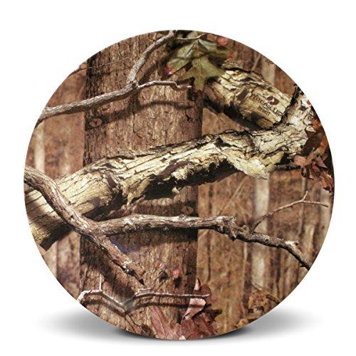 Mossy Oak Break-Up Infinity Round Melamine Salad Plate, 8.5-Inch