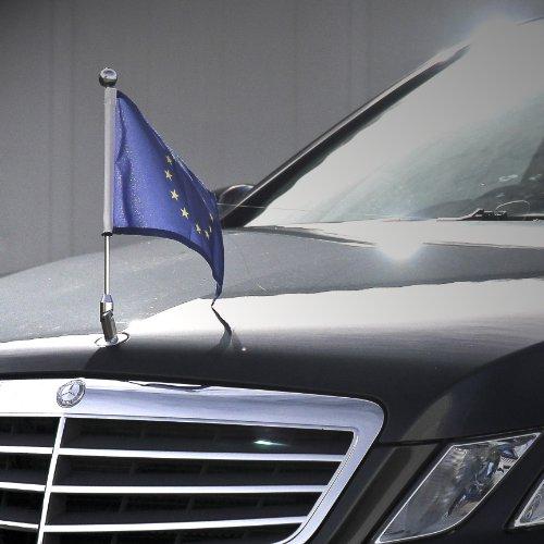 Car Flag Diplomat Star For Mercedes Benz Executive Luxury