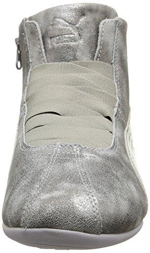 Mid Montantes Femme Metallic Puma Gris Eskiva Silver Filtred Rpx554w7