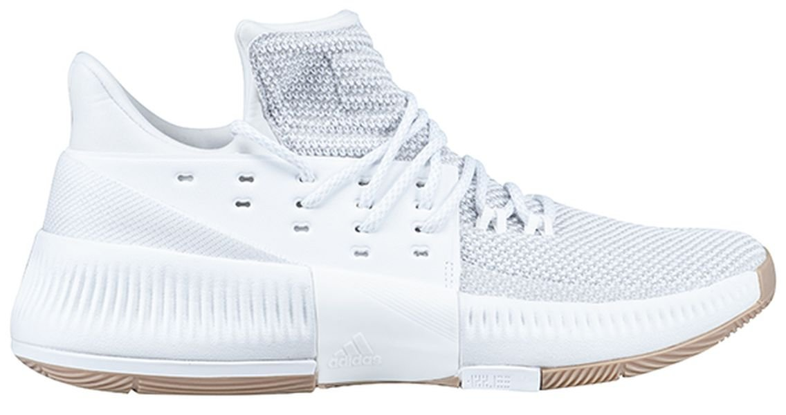 adidas Dame 3 Shoe Men's Basketball 6 GreyWhite