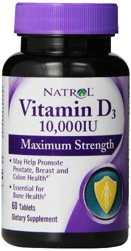 Natrol Vitamin D3 000iu Tablets