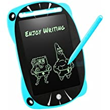 LCD Writing Tablet, Robot Pad 8.5 Inch Digital Drawing Board with Screen Lock Function - Electronic Writing Doodle Pad Drawing Board Gifts for Kids (Blue)