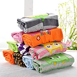 Baby PP Pants 5 Pack, Cotton Animal Baby Pants for Summer (9 Months, Girl)