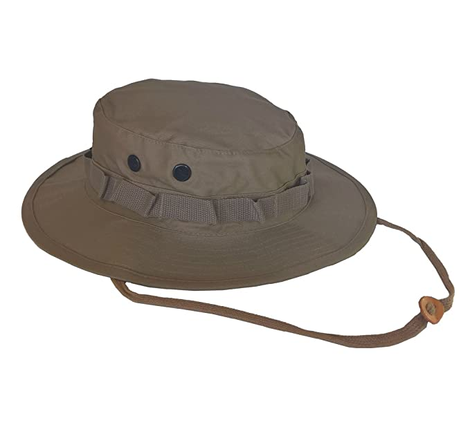 Amazon.com  Army Navy Shop UV Protective Boonie Hat Coyote Brown ... c68b4a45cd5