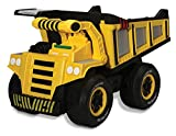 Kid Galaxy Mega Dump Truck. Construction Vehicle Toy for Kids & Toddlers Age 3 and Up. Vehicle