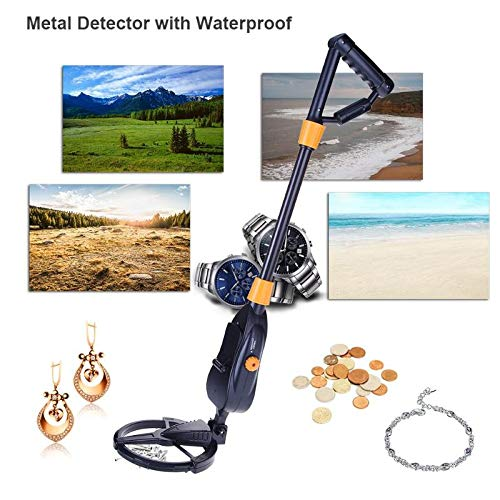 Industrial Metal Detectors - 1pcs Underground Metal Detector With Waterproof Search Coil Gold Digger Treasure Hunter Kids Finder - Hammers Children39;s ...